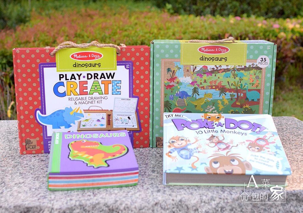 Melissa&Doug兒童繪本玩具推薦